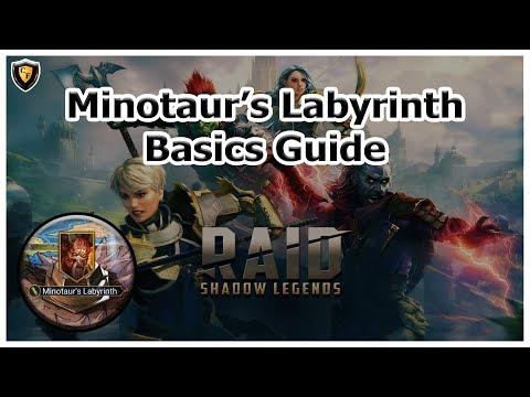 RAID: SL - Minotaur's Labyrinth - Basics Guide