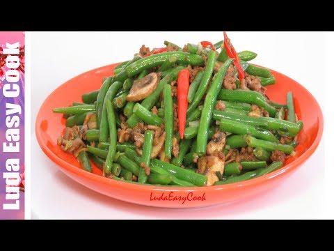 БЫСТРОЕ ВКУСНОЕ БЛЮДО ЗА 10 МИНУТ СТРУЧКОВАЯ ФАСОЛЬ С МЯСОМ ПО-КИТАЙСКИ | Chinese Style Green Beans