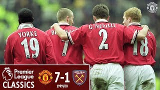 Premier League Classic | Manchester United 7-1 West Ham | 1999/00