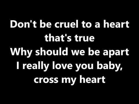 lyricsdont-be-cruel-elvis-presley-riahsha