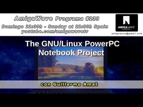 AmigaWave #233 - Noticias, proyecto Notebook PowerPC con Guillermo Amat y publicidad de 1981.
