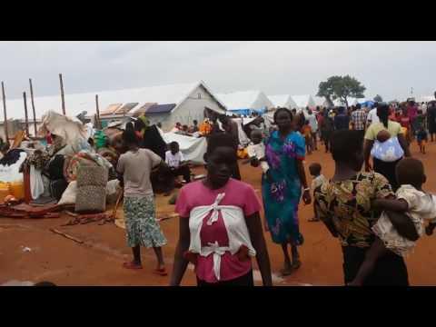 Nyumanzi flygtningelejr - Uganda