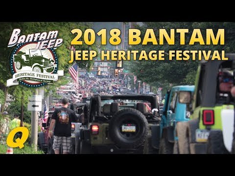 Bantam Jeep Heritage Festival 2018 Show Overview