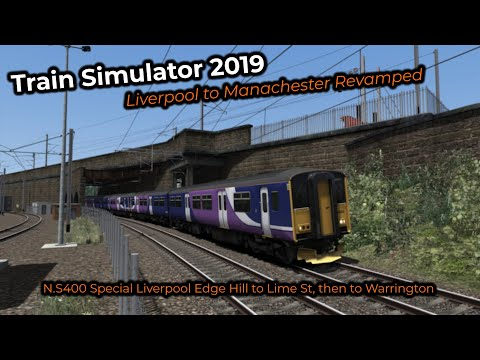 N.S400 Special Liverpool Edge Hill to Lime St, then to Warrington -- Livestream 28/07/2019