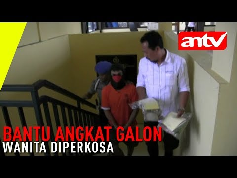 Download Video [ANTV] Bantu Angkat Galon Wanita Diperkosa