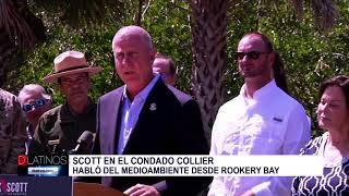 Senador Rick Scott en Naples