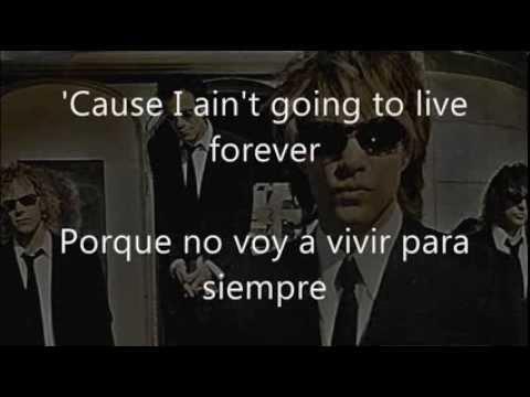 Its My Life En Espanol de Jon Bon Jovi Letra y Video