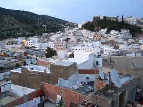 Evening call to prayer in Moulay Idriss