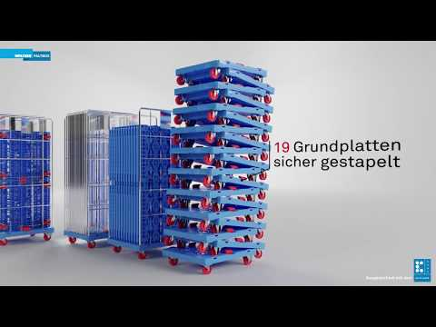 WALTHER Rollcontainer mit Komfortsystem