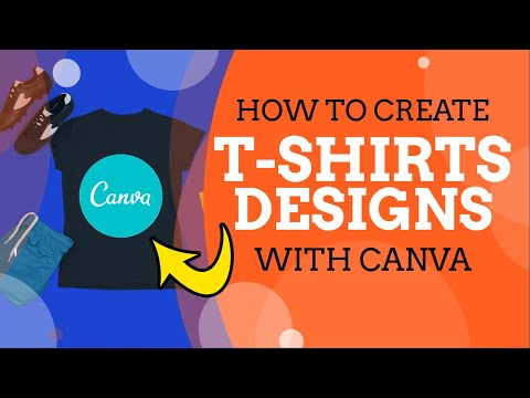 Canva Tutorial: How to Create T-Shirt Designs for Free (RedBubble, Merch By Amazon, Print on Demand)