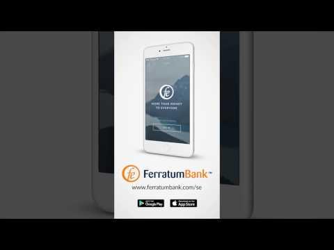 Ferratum Bank smarta banktjänster online.