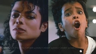 Michael Jackson - Bad (Official Video) vs MoonWalker