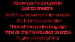 The Letter Black  -  Wounded [HQ with lyrics]
