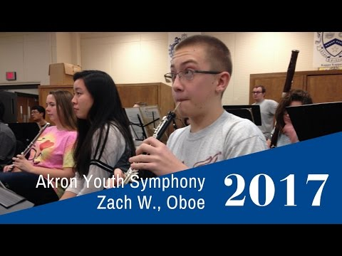 Akron Youth Symphony's Zach W.