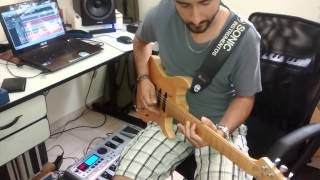 Solo guitarra - abertura de show