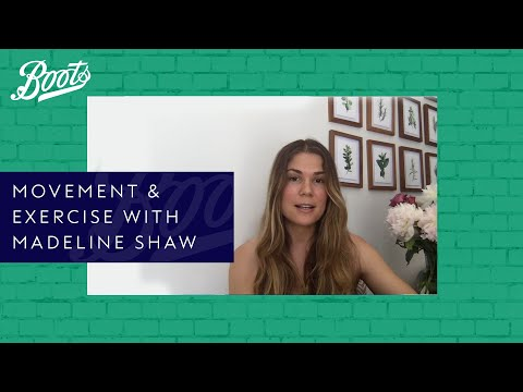 boots.com & Boots Voucher Code video: Boots Live Well Panel | Movement & Exercise with Madeline Shaw | Boots UK