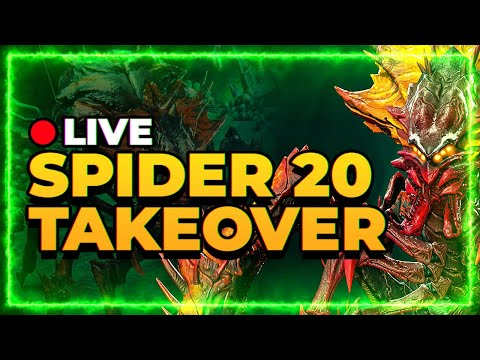 RAID Shadow Legends | LIVE Spider Account Takeover | From 18 to 20!