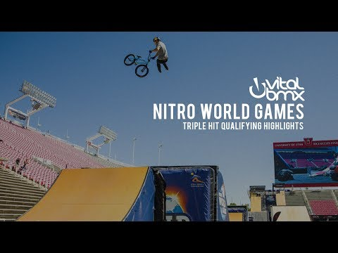 Triple Hit Qualifying at 2017 Nitro World Games