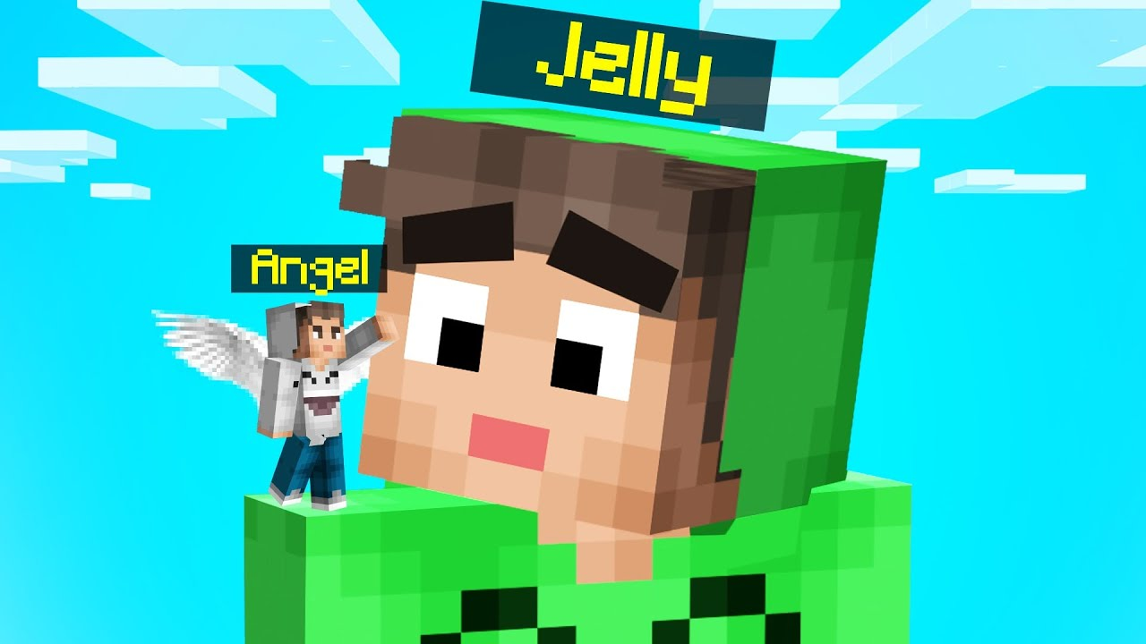 Jelly - MINECRAFT But There's An ANGEL On My SHOULDER!