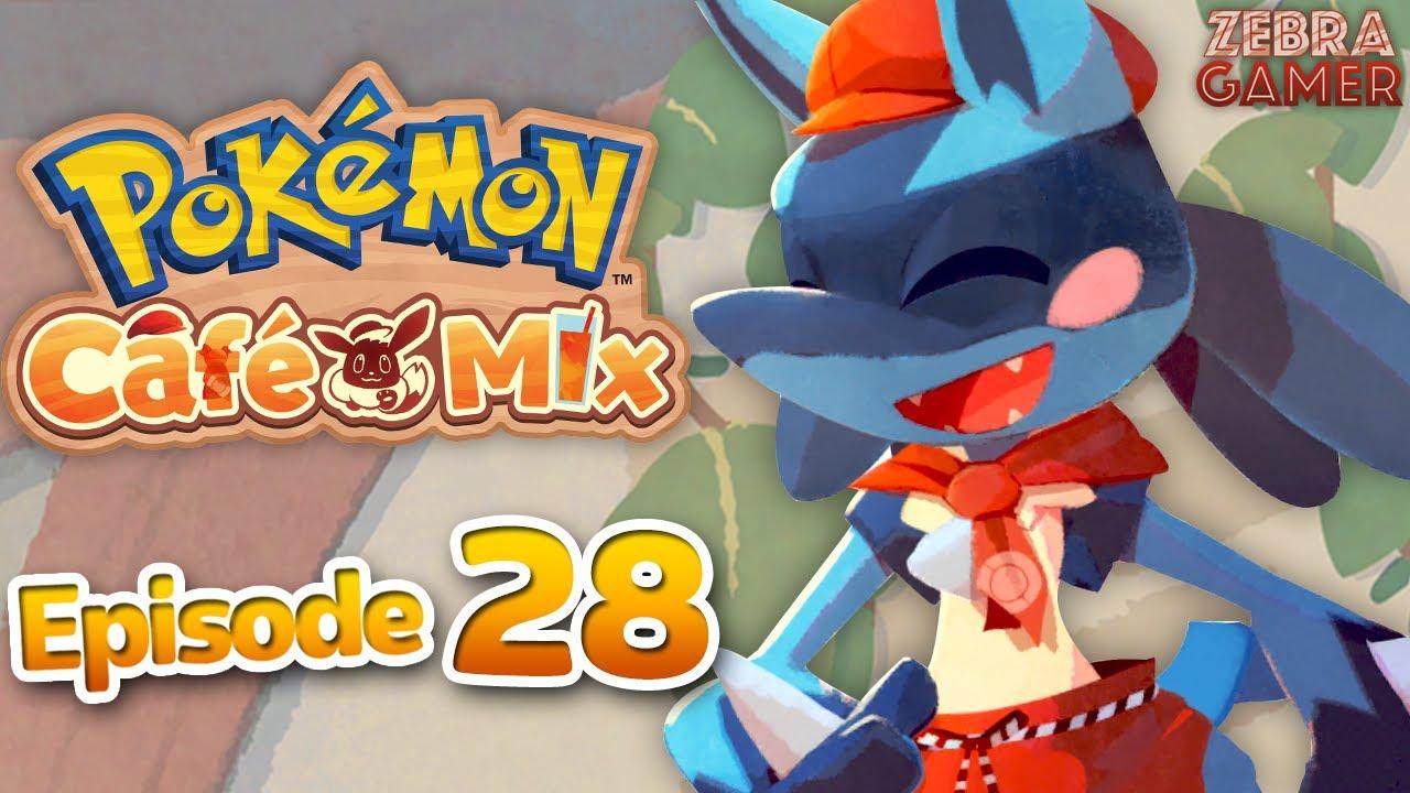 Zebra Gamer - Lucario! - Pokemon Cafe Mix Gameplay Walkthrough Part 28