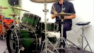 "The Beatles ""Hold Me Tight"" Drum Cover"