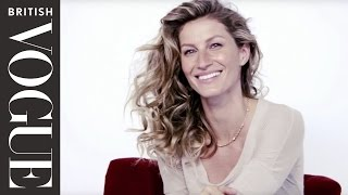 Gisele Bundchen's Photoshoot Challenge with Mario Testino | All Access Vogue | British Vogue