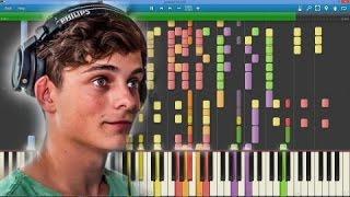 AREA 21 (Martin Garrix) - We Did It (Max Pandèmix piano cover)