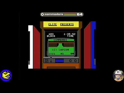 Commando loader, Commodore 64 - Real por S-Video