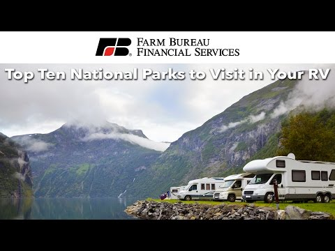 Top National Parks to Visit In Your RV
