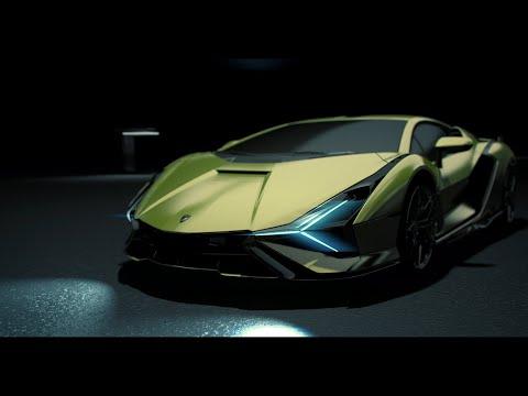 Lamborghini Smart Material System