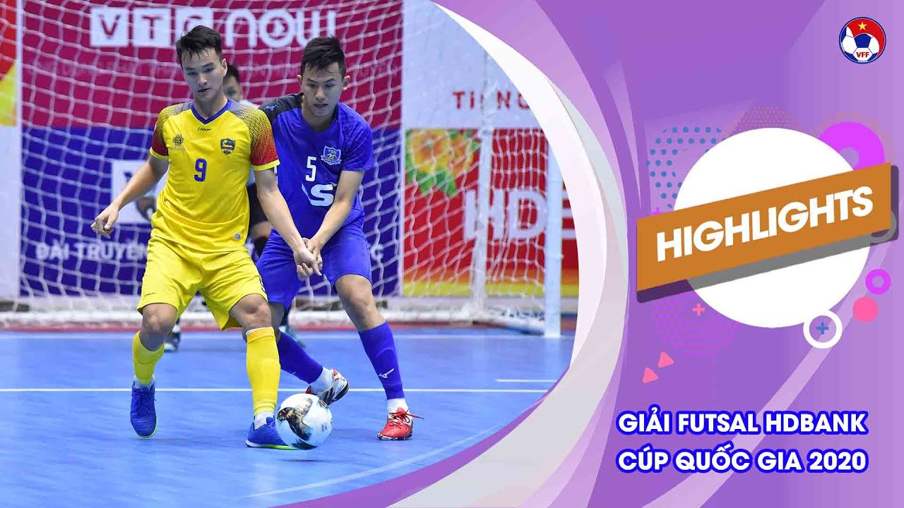 Highlights | Thái Sơn Nam - Quảng Nam | Futsal HDBank Cúp Quốc gia 2020