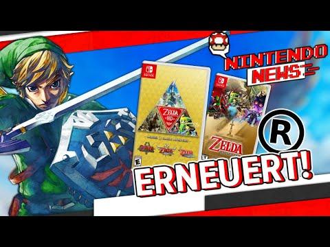 Viele The Legend of Zelda Trademarks erneuert! / Gewinnt Bowsers Fury - NintendoNews