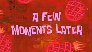 A few moment Later spongebob