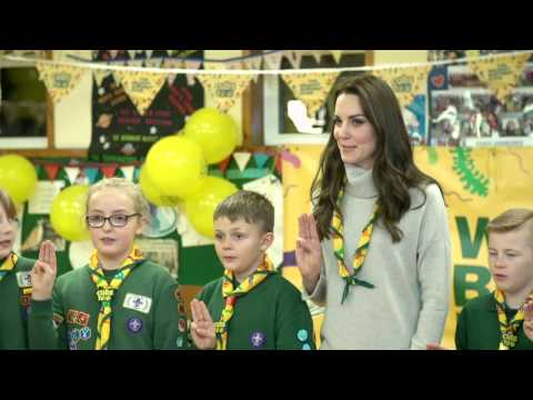 The Duchess of Cambridge celebrates Cubs100