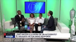El abogado Víctor Arias nos visita con su familia