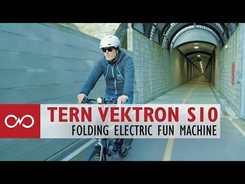 Review: Tern Vektron S10 Folding Electric Bike
