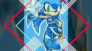 Sonica the hedgehog~ shower~