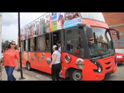 Recorrido turístico por la Ciudad de Oaxaca en andabus