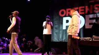 Monti B ft. Jaffar Byn - LIVE uppträdande (NY 2016) (Förenade förorter)