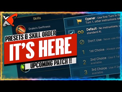 NEXT PATCH WILL BRING THESE QoL FEATURES!! | Team Presets & Skill Priorities | RAID: Shadow Legends