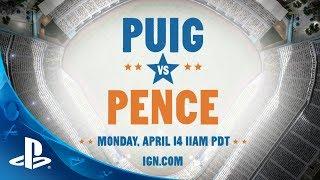 MLB 14 The Show | Puig Vs Pence PS4 Live Stream