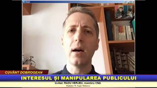 """""""Cuvant dobrogean″ – Interesul si manipularea publicului"""