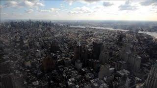 Visite du 100e étage de la tour One World Trade Center à New York