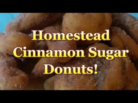 Simple & Delicious Homestead Donuts