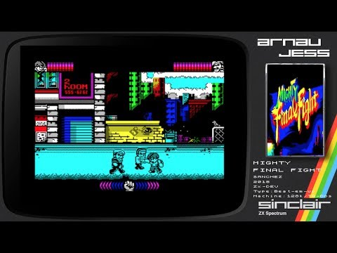 MIGHTY FINAL FIGHT Zx Spectrum by SANCHEZ