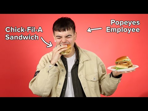 Fast Food Employees Rate Each Other's Chicken Sandwiches