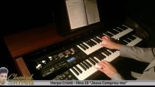 """Hino 13 """"Jesus Comprou-me"""" (Harpa Cristã) Órgão ROLAND AT300"""