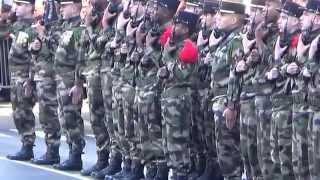 LA MARSEILLAISE chantée par le 1er RAMa (1er régiment d'artillerie de marine)l