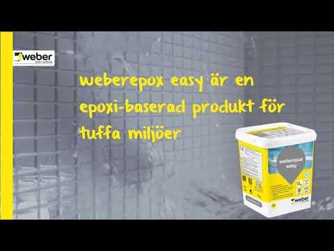 weberepox easy - fix och fog i samma produkt