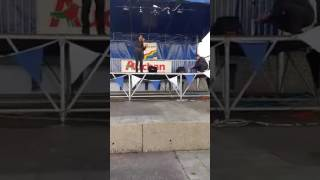 """audrey landers PLAYA BLANCA 2016 singing by a french singer """"soundcheck"""""""